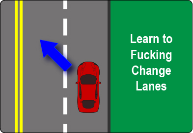 Learn to safely change lanes.