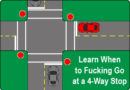 Learn When to Go at a F$%*ing Four-Way Stop