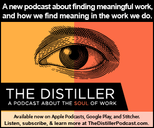 The Distiller Podcast banner