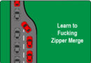 Learn to F$%*ing Zipper Merge